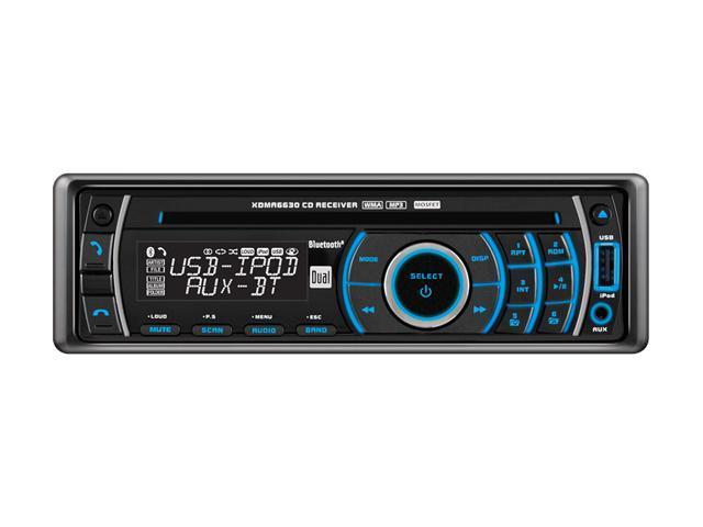 Dual In-Dash CD Receiver w/ USB & Bluetooth