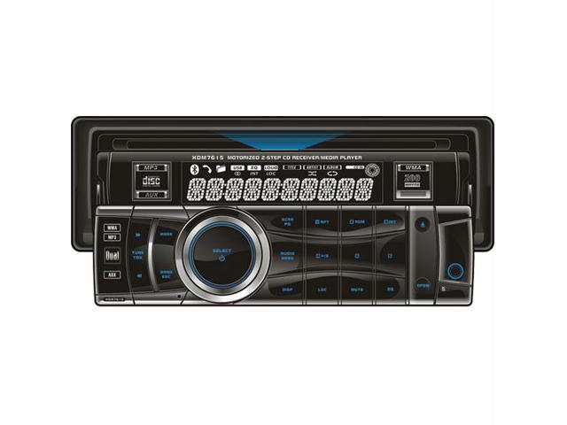 Dual In-Dash CD Receiver Model XDM7615