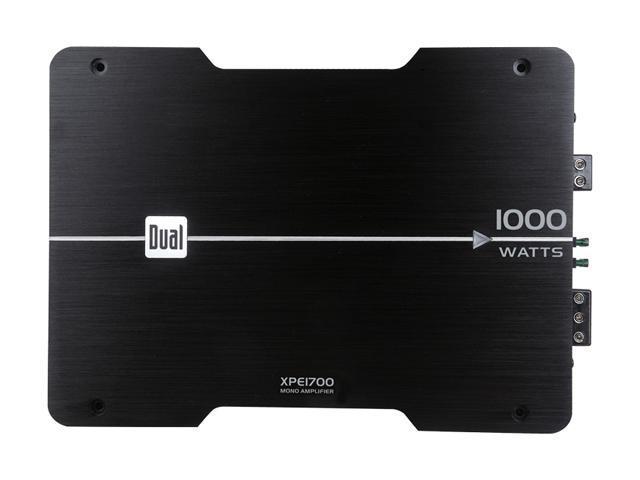 Dual 1000W Mono Amplifier
