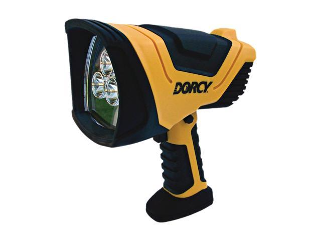 Dorcy 41-1080 500 Lumen Led Rechargeable Spotlight With Charging Adaptor
