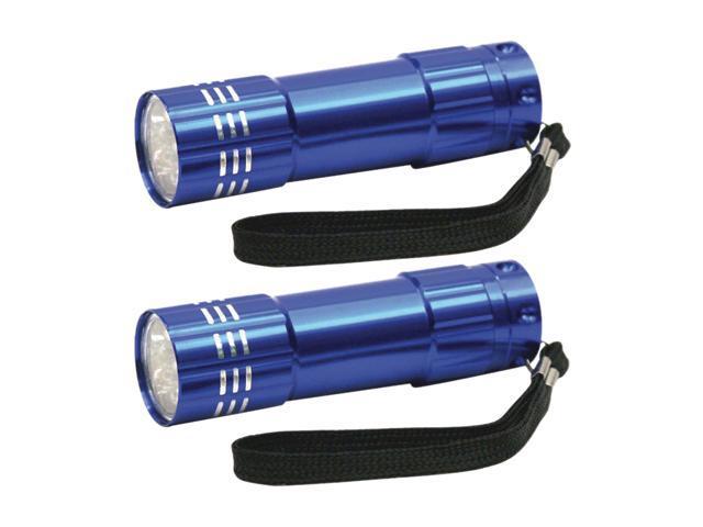 Dorcy 41-3245 9 LED Aluminum 2 Pack