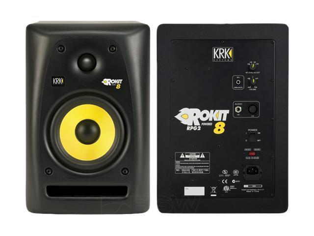 KRK Systems RP8G2 Rokit G2 Powered Studio Monitor