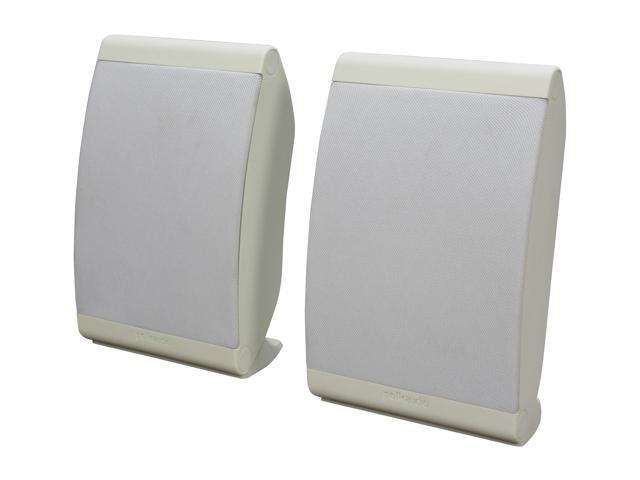 Polk Audio OWM3 White Multi Application Compact Loudspeaker Pair