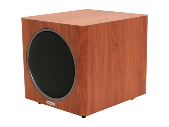 Polk Audio PSW110 10-Inch Powered subwoofer, Single, Cherry