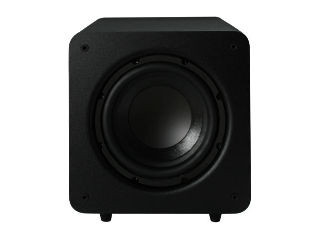 Polk Audio PSW Series PSW111 Black Compact powered subwoofer Single
