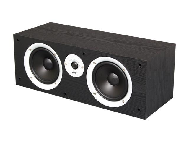 Polk Audio CSR Black Two-way center channel loudspeaker Single