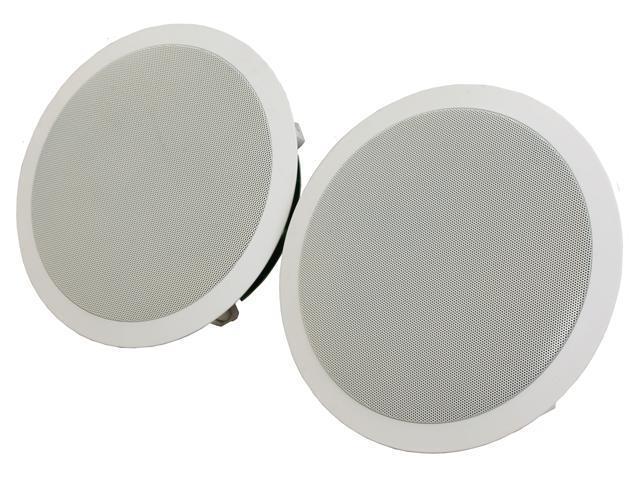 "Polk Audio RC80i White Round 8"" High Performance In-Ceiling Speaker Pair"