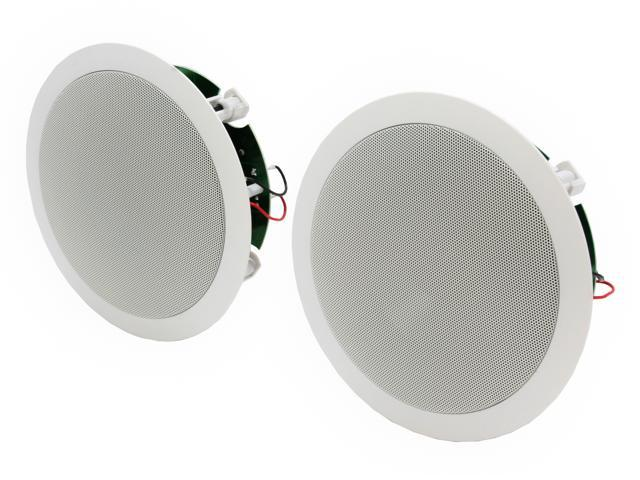 """Polk Audio RC60i White Round 6.5"""" two-way in-wall/ceiling loudspeaker Pair"""