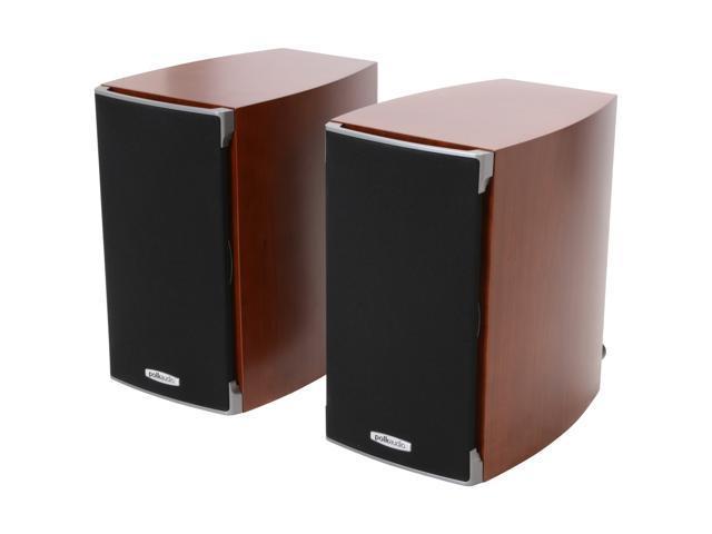 Polk Audio RTi A1 Cherry High Performance Bookshelf Speaker Pair, 5.25 -inch driver and a 1-inch dome tweeter