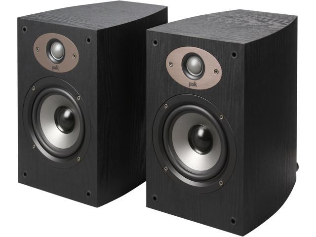 Polk Audio TSX110B BLACK 2-way speaker with 5 1/4-inch driver Pair
