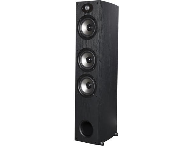 Polk Audio TSX440T BLACK High performance tower with three 6 1/2-inch drivers Single