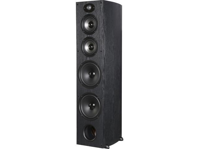 Polk Audio TSX550 T Black High Performance Towers with two 5.25 inch drivers and 2 8-inch Woofers