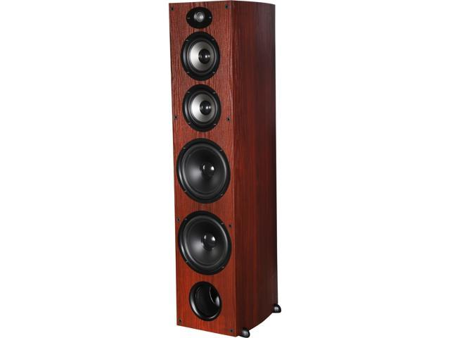 Polk Audio TSX550 T Cherry High Performance Towers with two 5.25 inch drivers and 2 8-inch Woofers