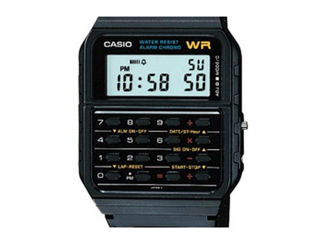 CASIO Casio 8-digit Calc Dual Time Watch