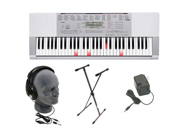 Casio LK-280 61 Key Portable Keyboard Premium Pack