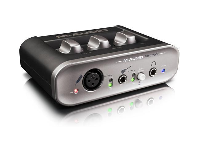 M-Audio PA43402-C22901 Easily Record Instruments and Vocals Like a Pro