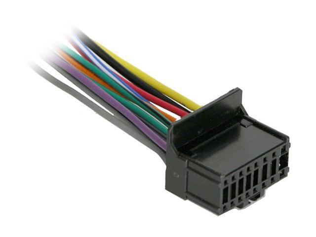 pioneer 16 pin universal wiring harness newegg