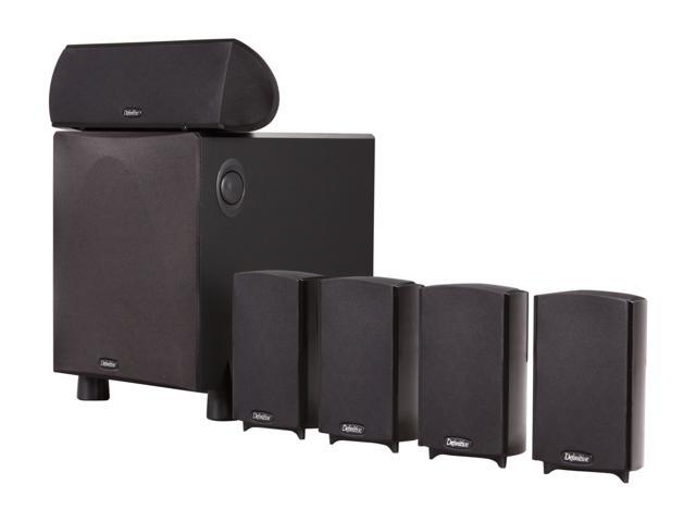 Definitive Technology ProCinema 600 System 5.1-Channel Home Theater Speaker System (Black) System