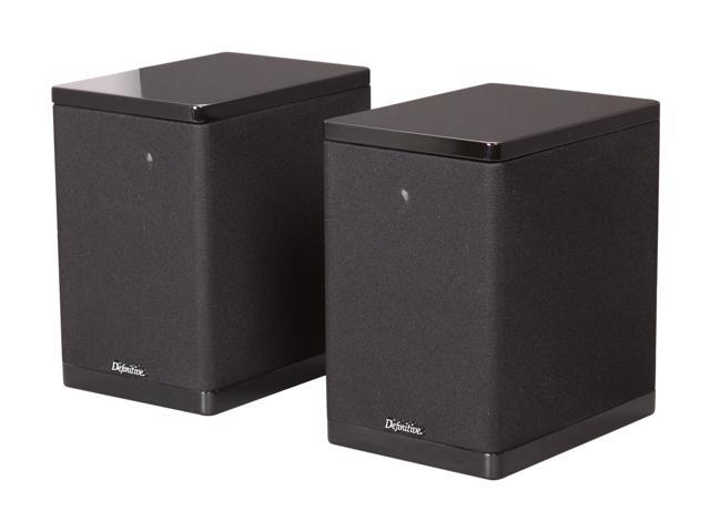 Definitive Technology StudioMonitor 350 Bookshelf/Stand Mount Speaker (Black) Pair
