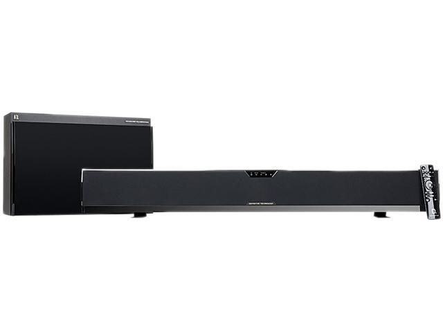 Definitive Technology SoloCinema XTR 5.1 CH Fully Powered 5.1-channel Sound bar with Wireless Subwoofer System