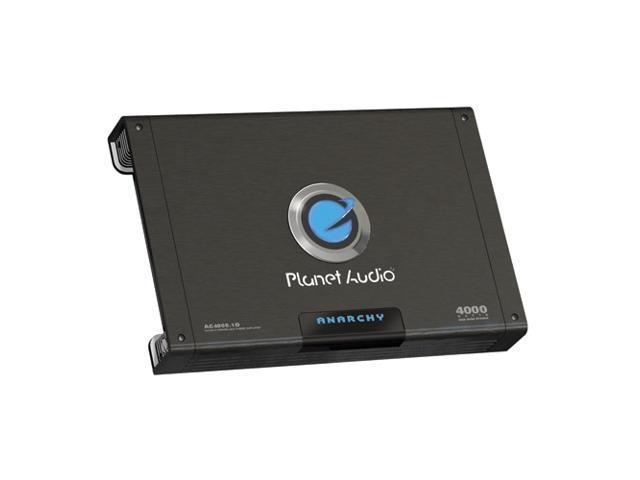 Planet Audio 4000W Mono Amplifier W/ Remote Subwoofer Control