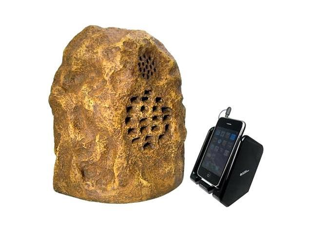 Audio Unlimited SPK-ROCK4 900MHz Sandstone Wireless Rock Speaker Single