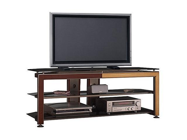 "BUSH FURNITURE VS74677-03 Up to 60"" Cool Gray Metallic TV Stand"