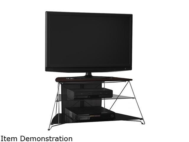 "BUSH FURNITURE myspace Series MY11542-03 Up to 42"" Mocha Cherry Rhea TV Stand"