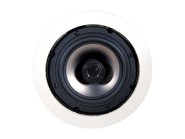 "NXG Technology Onyx NX-C5.2-X 5.25"" 50-Watt 2-Way In-Ceiling Speaker System with Tilt-Swivel Tweeter Pair"