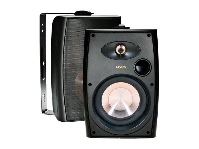 "NXG Technology NX-AW5B 5.25"" 2-way Indoor/Outdoor Speaker System (Black)"
