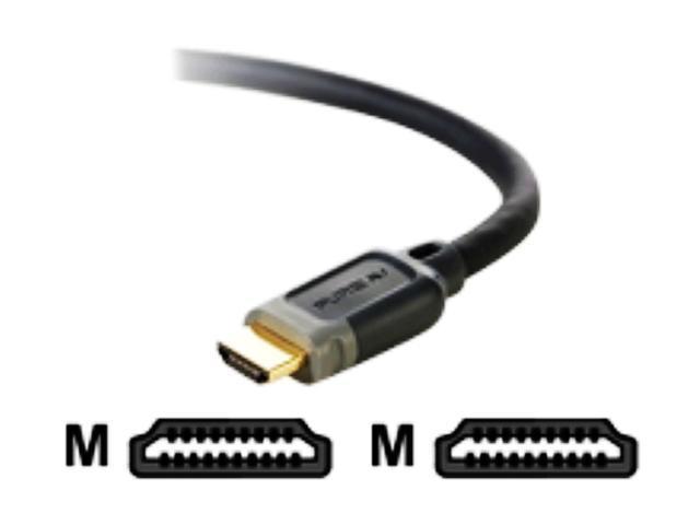 BELKIN PURE AV F8V3311B15 15 feet Black HDMI Cable M-M