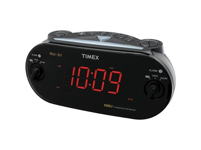iHOME T715B Dual Alarm Clock with Redi Set