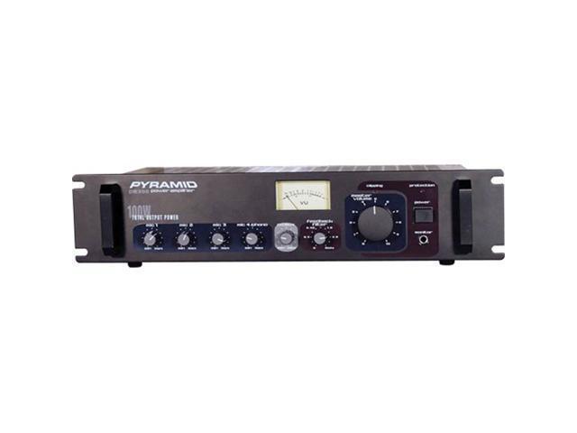 82 381 007 02 pyramid pa305 300 watt pa amplifier w 70v output newegg com