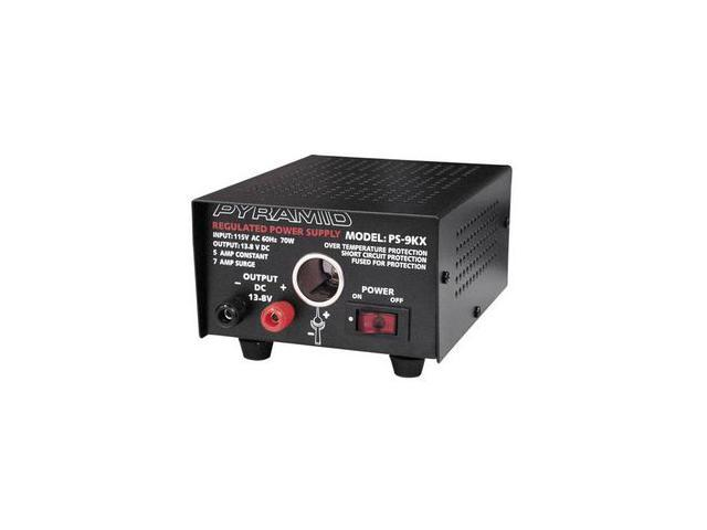 5 Amp Power Supply w/Cigarette Lighter Plug