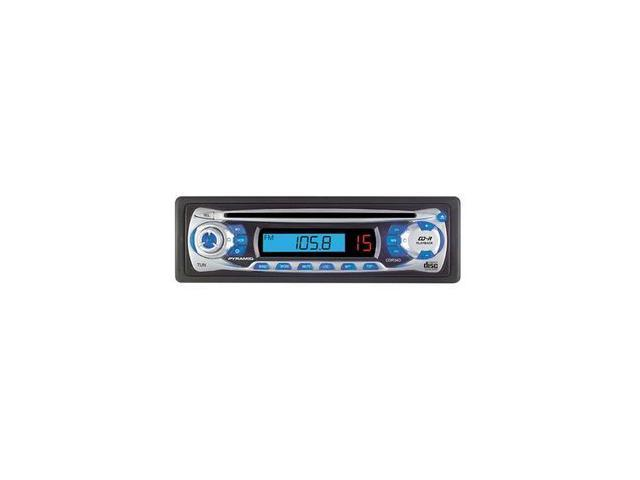 Pyramid AM/FM Receiver CD Player w/Full Detachable Face Model CDR34D