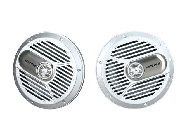 "Alpine 7"" Coaxial 2-Way Marine Speaker"