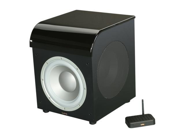 Infinity PSW310WBK High-Gloss Black 400W Wireless Powered Subwoofer Single