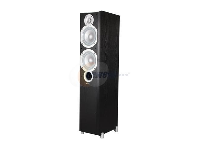 "Infinity Primus P253 2-Way Dual 5-1/4"" Floorstanding Speaker - Each (Black)"