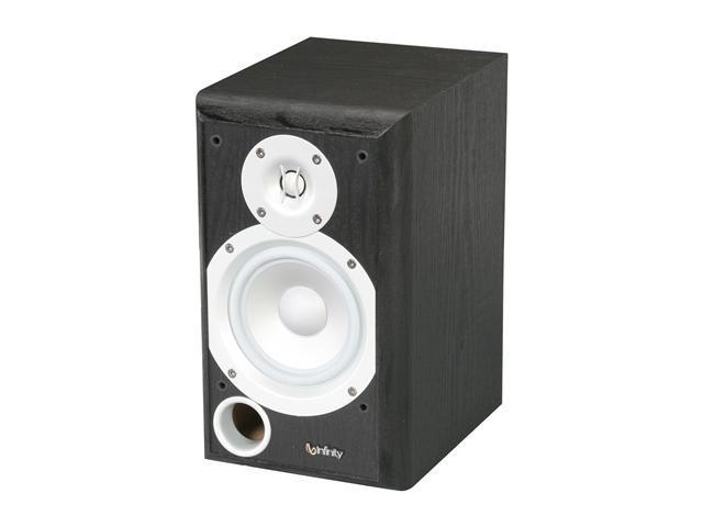 Infinity Primus P153BK Two-way Bookshelf/Wall-mount Loudspeaker Single