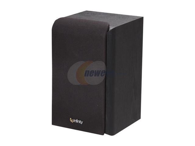 Infinity Primus P143BK Two-way Bookshelf/Wall-mount Loudspeaker Single