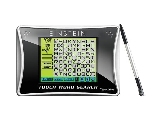 Excalibur ET454 EinsteinTouch Word Search