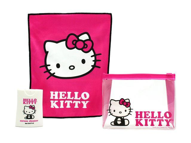 ShieldMe 902848 Hello Kitty 18ml Screen Cleaner w/Cloth & Purse