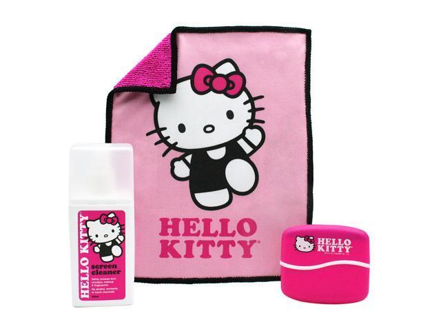 ShieldMe 902831 Hello Kitty 150ml Screen Cleaner w/Cloth & Brush
