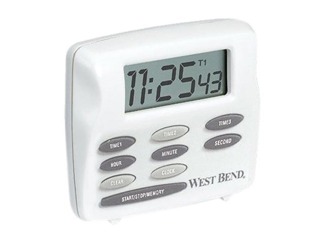 West Bend 40053 Electronic Triple Timer/Clock
