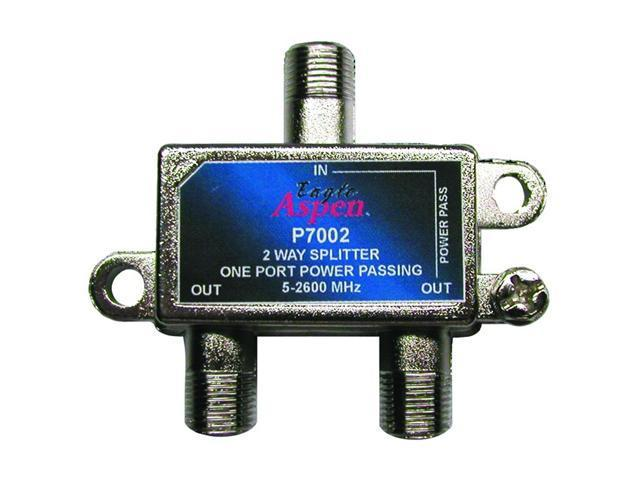 Eagle Aspen P7002 2-Way 2600 MHz Splitter (1-port Passing)