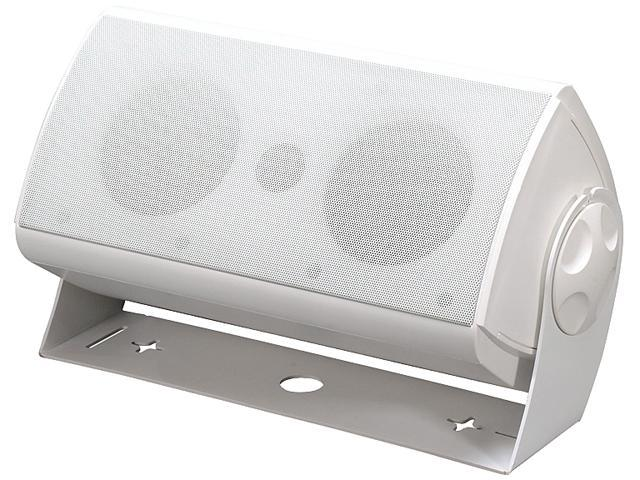 Atlantic Technology AW424PWHT Indoor/Outdoor Speakers Pair
