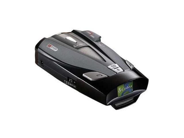 Cobra XRS 9930 12 Band Radar/Laser Detector with Color Bright Grafx Display