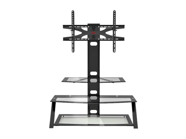 "Z-Line ZL0018-44MxxiiiU Up to 60"" Clear/Black Kaden Flat Panel 3 in 1 Television Mount System"
