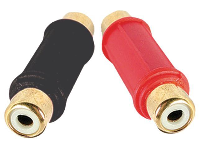 DB Link BF103 Gold Female Barrel Connector (1 Red, 1 Black)