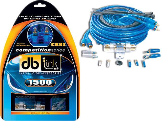 DB Link CK8Z 8-gauge Competition Series Amplifier Installation Kit
